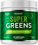 Super Greens Powder - 250g Tub - 50 Servings - 17 Different Nutrients