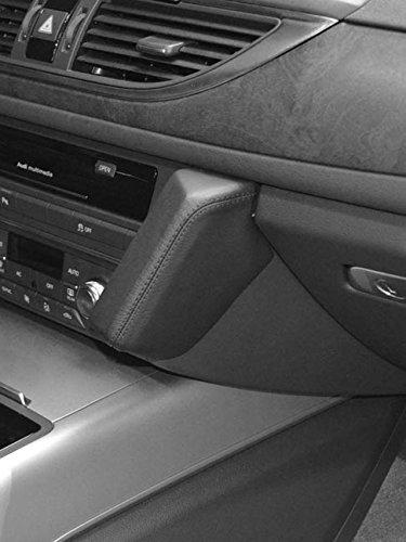 KUDA 093575 Halterung Kunstleder schwarz für Audi A6 (C7) ab 03/2011 bis 2018 / Audi A7 ab 08/2010 bis 02/2018