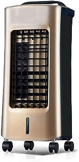Sdesign Enfriador de Aire con Enfriador, purificador de Aire, refrigeración función del Ventilador, 3 Programación y Oscilación de Viento, 5L Tanque de Agua, Consumo de Energía 75W