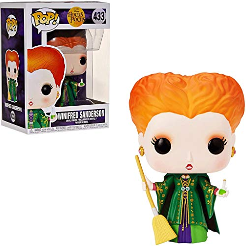 Gogowin Pop Movies : Hocus Pocus - Winifred Sanderson 3.75inch Vinyl Gift for Movies Fans Chibi Figure