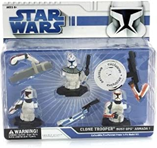 Star Wars Clone Trooper Bust-UPS Armada 1 Collectible Pre-Pa