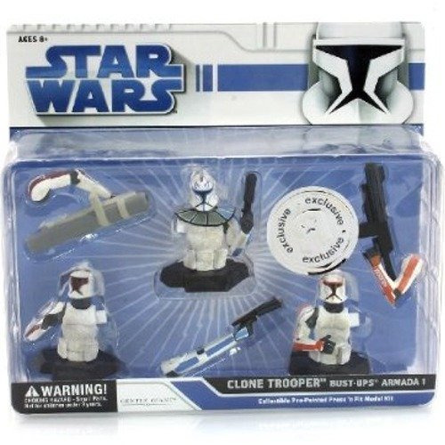 Star Wars Clone Trooper Bust-UPS Armada 1 Collectible Pre-Painted Press 'n Fi...