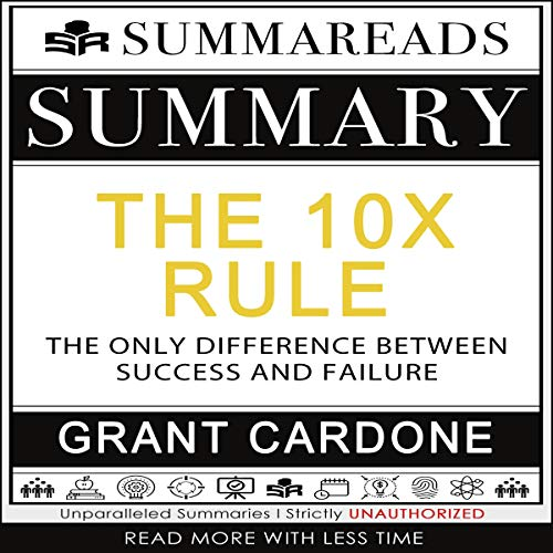 Summary of The 10X Rule cover art