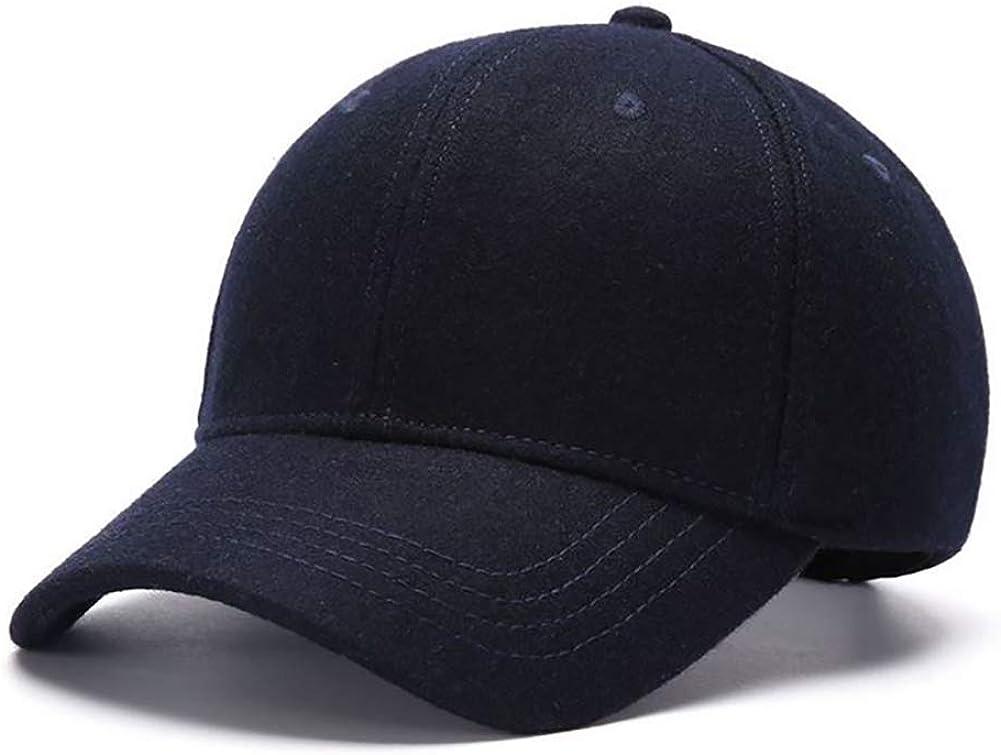 Zylioo Ranking TOP15 XXL Oversized Woolen Alternative dealer Winter Hat Cap Fleece Lined Baseball