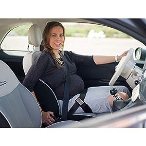 Cincobebé Cinturón para Embarazada de Seguridad en el Coche/Adaptador Cinturón Embarazada que Protege al Bebé y la Mamá Evitando el Riesgo de Aborto,Seguro y Cómodo