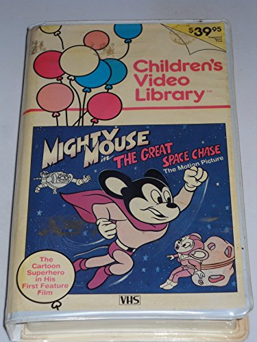 Mighty Mouse in The Great Space Chase - The Motion Picture [VHS]