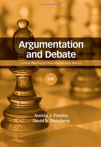 Argumentation and Debate: Critical Thinking for Reasoned...