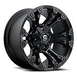 Fuel D560 Vapor 17x9 6x135/6x139.7 +1mm Matte Black Wheel Rim