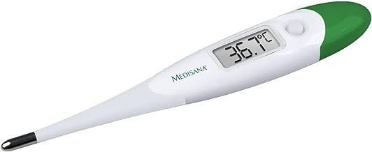 Kinder und Erwachsene Umgebungstemperatur und Fl/üssigkeitstemperatur mit visuellem Fieberalarm und Speicherfunktion axillar oder rektal Medisana FTN digitales 6in1 Fieberthermometer f/ür Baby oral