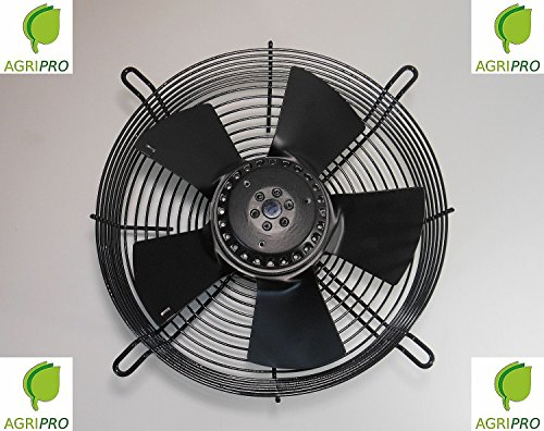 Ventilatore assiale VENTOLA DN 400 mm ASPIRANTE W 190 monofase