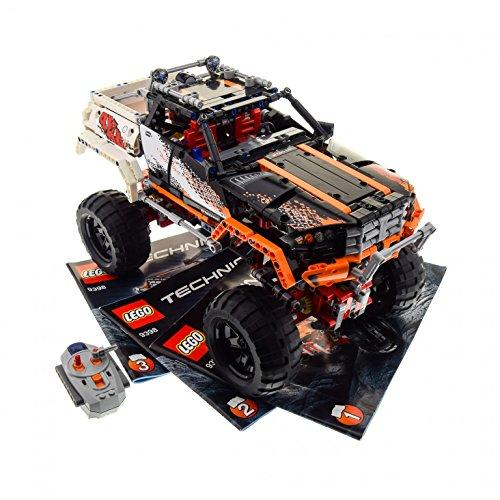1 x Lego Technic Modell Set 9398 4x4 Crawler Electric Motor 9V Power Functions L grau rot geprüft mit BA incomplete unvollständig