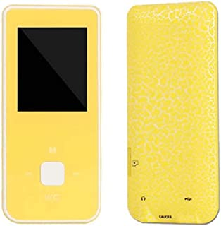 YZT Portable HiFi MP3 Music Player with FM Lossless Sound Voice Recorder up to 32GB (Color : Yellow)