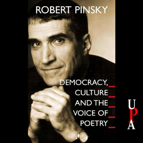 Democracy, Culture and the Voice of Poetry audiobook cover art