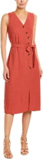 terracotta wrap dress