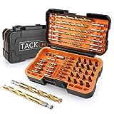Juego de extractor de tornillo TackLife DDS02, conjunto de removedor de...