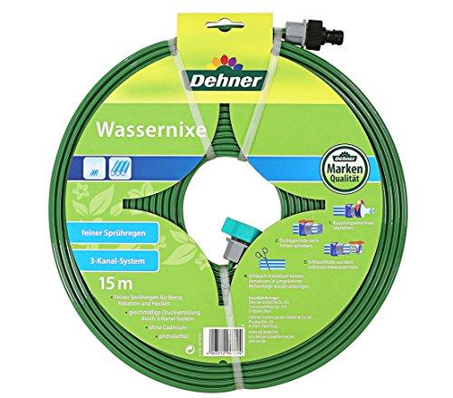 Dehner Bewässerungsschlauch Wassernixe, 15 m, phthalatfreier Kunststoff, grün