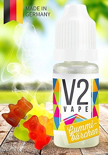 V2 Vape E-Liquid Gummibärchen gebrauchsfertig - Made in DE 0mg nikotinfrei - 10ml