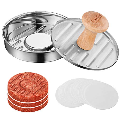 """CALIVO Premium 5"""" Burger Press 