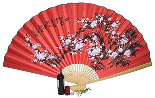 AAF Nommel®, großer Dekofächer 057 aus Papier und Bambus, geöffnet ca 160 cm breit!