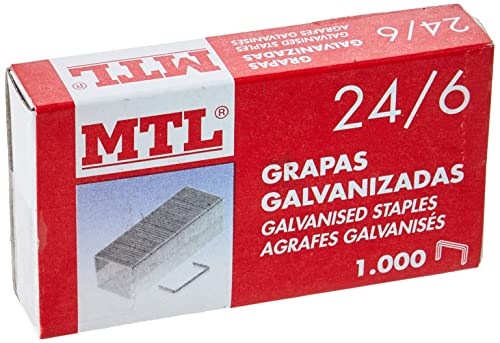MTL 79180 - Pack de 1000 grapas galvanizadas