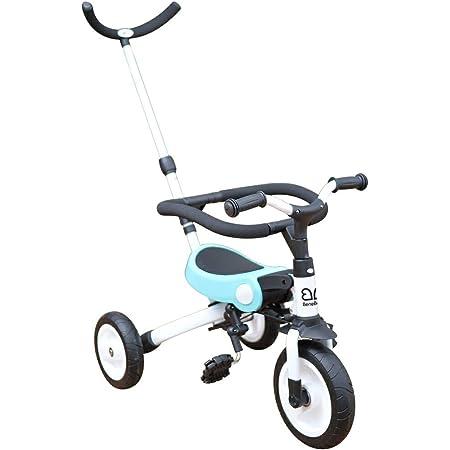 BeneBene 折りたたみ三輪車 大人用ハンドル付 sl-a2 ブルー