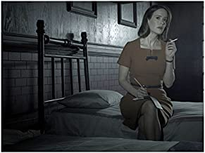 American Horror Story Asylum Sarah Paulson as Lana Winters on Bed Smoking 8 x 10 Photo
