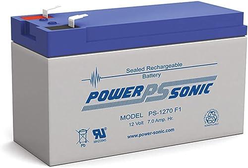 Power Sonic 7Ah 12V SLA Battery