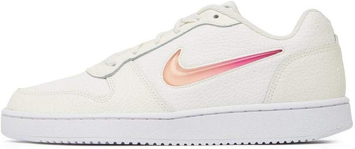 Nike WMNS Ebernon Low Prem, Chaussures de Basketball Femme