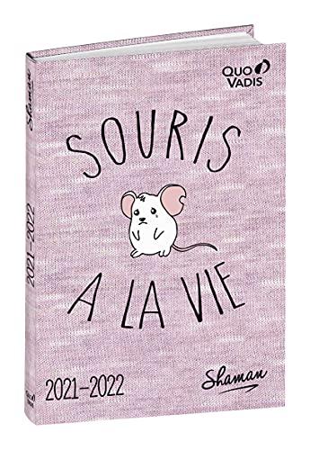 Quo Vadis - 1 Agenda Scolaire Journalier Août 2021 à Juillet 2022 - Shaman - Souris à la vie - 12 x 17 cm