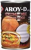 Aroy-D Latte di Cocco per Cucinare, 400 ml, Confezione da 8 pezzi