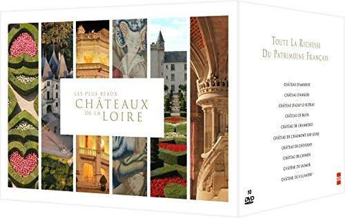 The most beautiful Chateaux of the Loire valley - 10-DVD Boxset ( Les Plus beaux châteaux de la Loire ) [ Origen Francés, Ningun Idioma Espanol ]