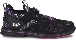Dexter Womens Pro BOA Black/Purple Bowling Shoes
