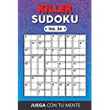 KILLER SUDOKU Vol. 34: Collection of 100 different Killer Sudokus for Adults | Easy and Advanced | Perfectly to Improve Memory, Logic and Keep the Mind Sharp | One Puzzle per Page | Includes Solutions