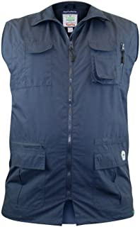 D555 Multipocket Hunting Waistcoat/Gilet (Enzo) in Size 1XL to 8XL, 2 Color Options