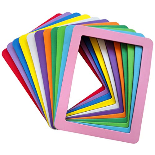 magnetic picture frames 6x8 Magnetic Photo Frames for Refrigerator Colorful 6x8 Magnetic Picture Frames Strong Magnetic Frame 6x8 Magnet Photo Frame Holder 6x8 Picture Frame Magnets for Iron Material Surfaces Decor 11 Pack
