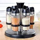Würze Box Kitchen Spice Dispenser Pfefferstreuer 6Er Pack Set 90Ml Körnig Oder Pulverisiert Gewürzglas Glasflasche Cruets Kochen Bbq