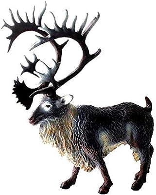 NORD America Animale ALCE MOOSE modello animale animale selvatico Figura Ornamento Casa