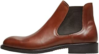 Selected Shdbaxter Chelsea Leather Boot Noos, Bottes Homme