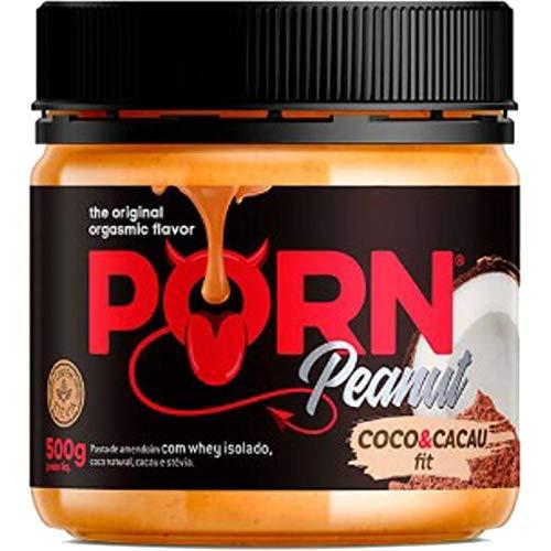 Pasta de Amendoim Coco e Cacau Fit 500g - Porn Fit