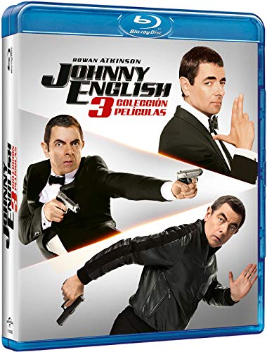 Pack: Johnny English 1-3 (+ BD) [Blu-ray]
