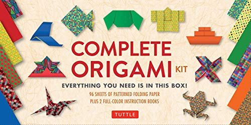 Complete Origami Kit: [Kit with 2 Origami How-to Books, 98 Papers, 30 Projects] This Easy Origami for Beginners Kit is Great for Both Kids and Adults