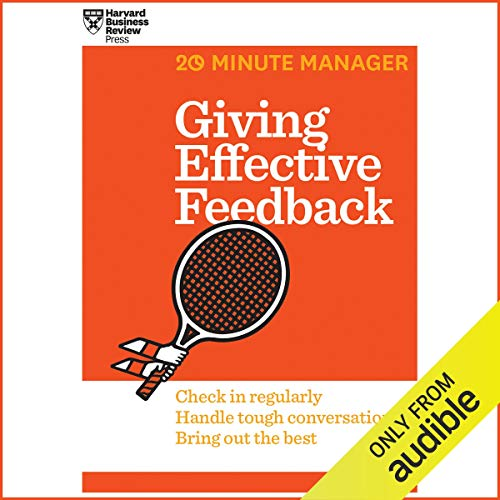 Giving Effective Feedback audiobook cover art