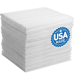 "12"" x 12"" size polyethylene foam sheets, 1/8"" thickness per sheet. 50 pre-cut sheets per order, 600"" combined total length. DAT brand moving supplies, shipping supplies, and packing supplies used as packaging material. Provides protective cushioning,..."