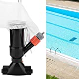 Portable Swimming Pool Pond Fountain Vacuum Cleaner Cleaning Tool Portable Pool Vacuum Jet Underwater Cleaner