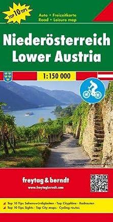 Bassa Austria 1:150.000: Toeristische wegenkaart 1:150 000