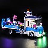 Nlne Kit De Iluminación Led para Lego Friends Camión De Asistencia Y Mantenimiento, Compatible con Ladrillos De Construcción Lego Modelo 41348 (NO Incluido En El Modelo)