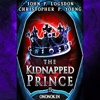The Kidnapped Prince audiobook cover art