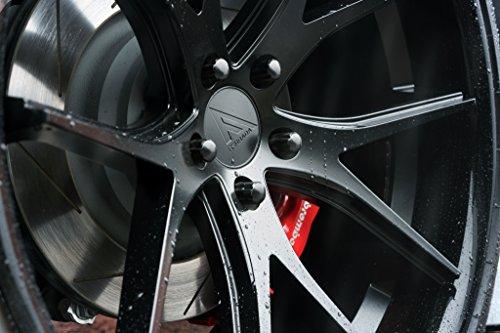 20' Inch Ferrada FR2 Matte Black/Gloss Black Lip Concave Wheels Rims | Set of 4 | Fits FORD MUSTANG GT