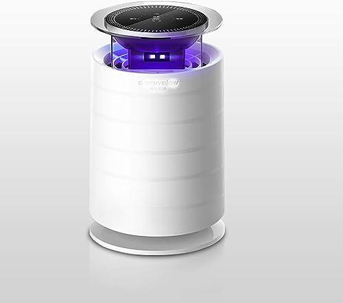 YHEGV Lampe Moustique piège à moustiques, Insecticide LED Non Toxique à LED Intelligente, alimentée par USB, Efficace, piège à moustiques Intelligent pour capturer la Capture de moustiques de cont