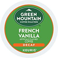 Green Mountain Coffee Light Roast K-Cup for Keurig Brewers, French Vanilla Decaf Coffee (Pack of 96) by Green Mountain Coffee